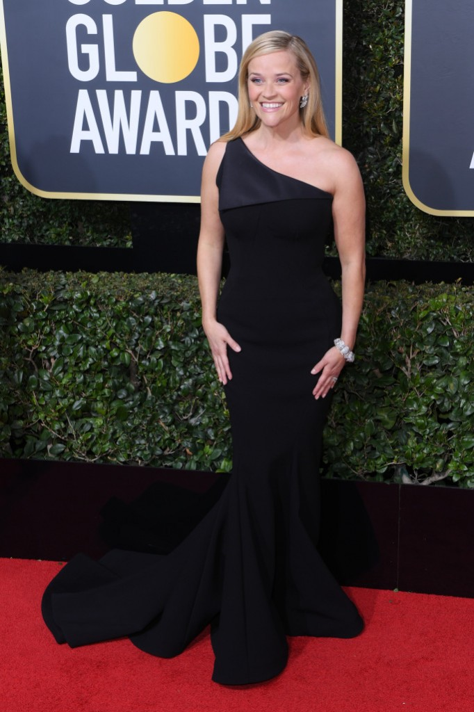 Reese Witherspoon in Zac Posen at the Golden-Globes-2018