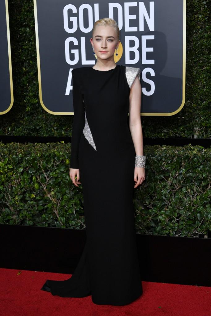 Saoirse Ronan in Atelier Versace