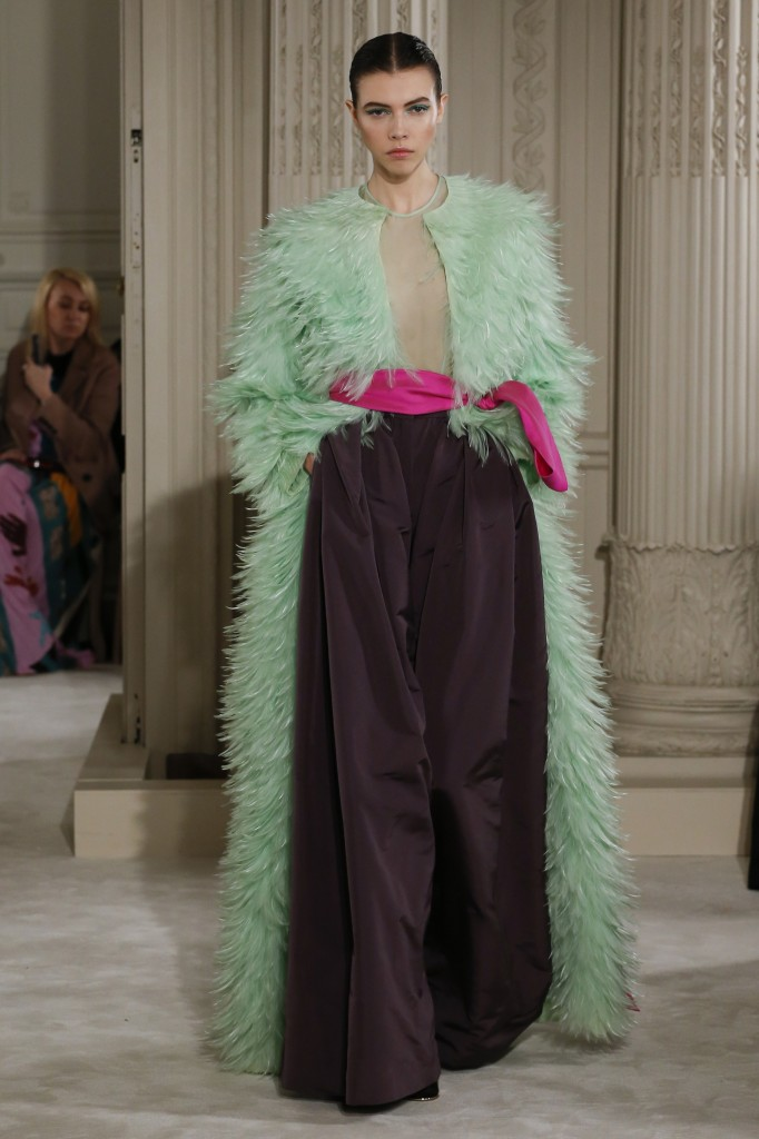 Valentino's spring couture collection (Photo courtesy of Vogue.Com)