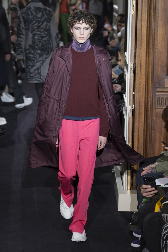 Valentino Men's 2018 Fall Collection (Photo Courtesy of Vogue.com)