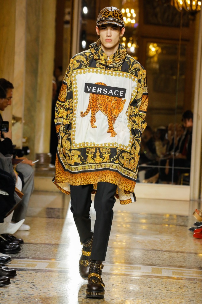 Versace Men's 2018 Fall Collection (Photo Courtesy of Vogue.com)
