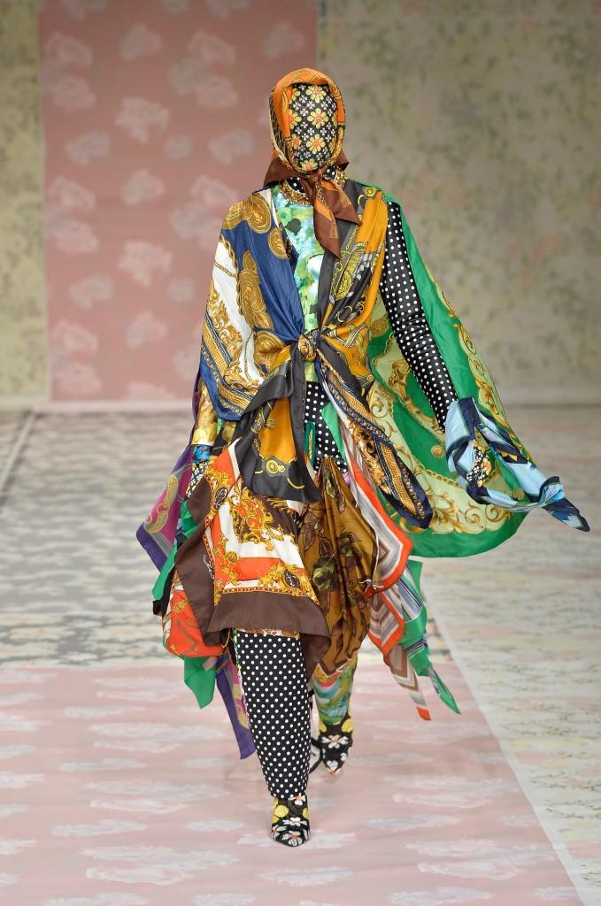 Richard Quinn Photo courtesy of Vogue.com