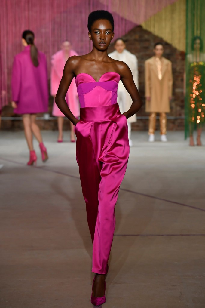 Milly's fall 2018 Collection (Photo courtesy of Vogue.com)