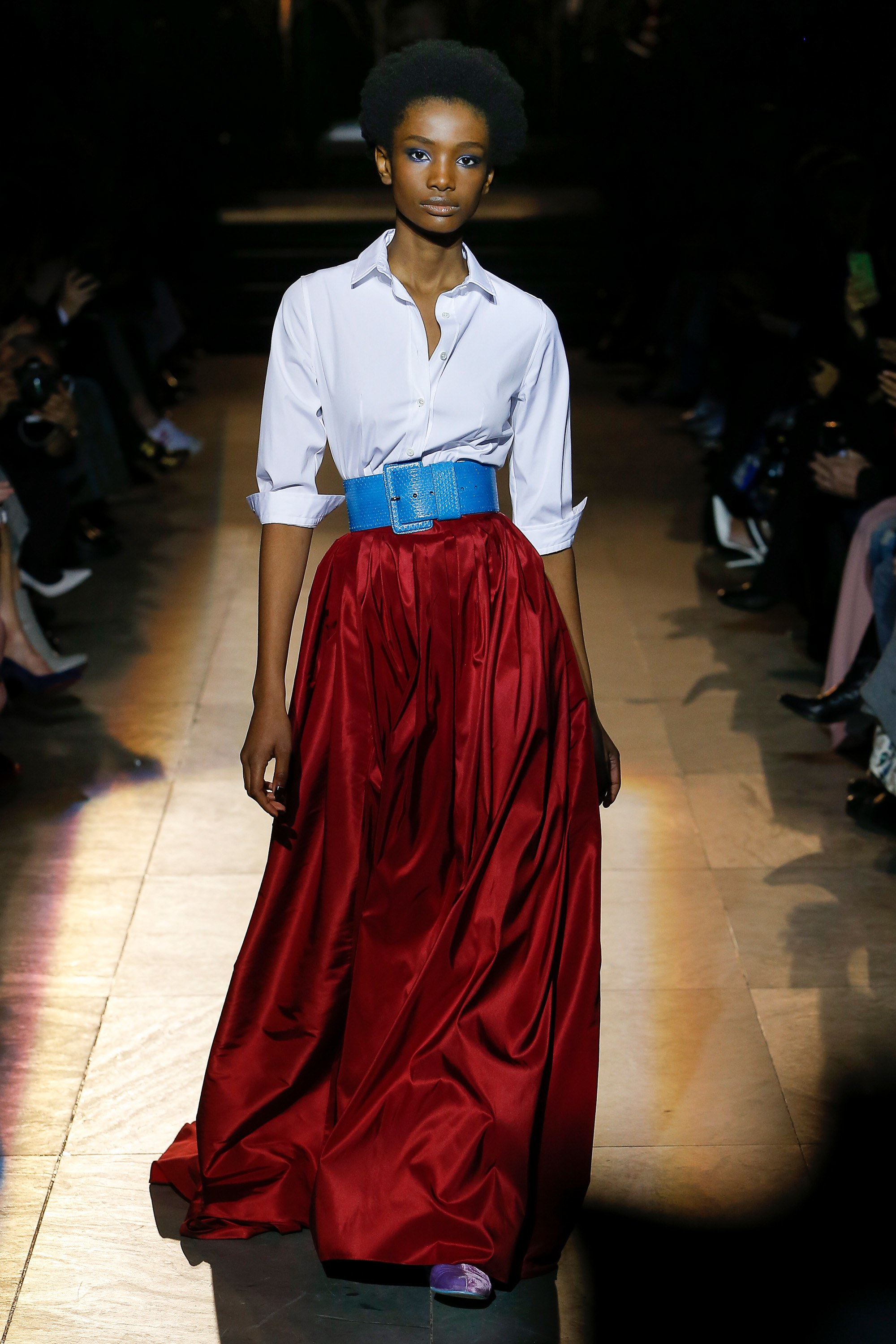 229e9459212 Fall 2018 New York Fashion Week Round Up  The Eighties Are Back ...