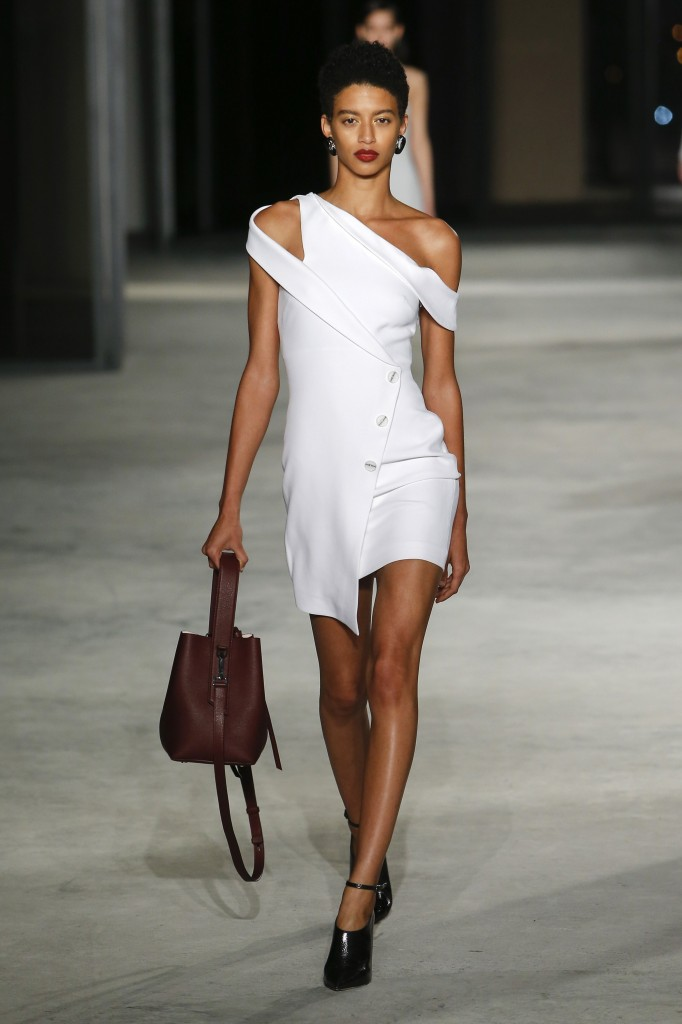 Cushnie et Ochs's fall 2018 Collection (Photo courtesy of Vogue.com)