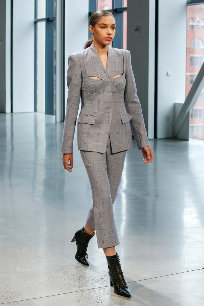 Dion Lee's fall 2018 Collection (Photo courtesy of Vogue.com)