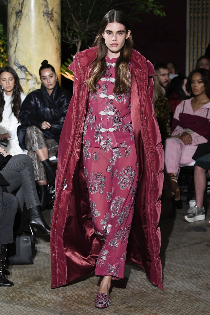 Juicy Couture's fall 2018 Collection (Photo courtesy of Vogue.com)