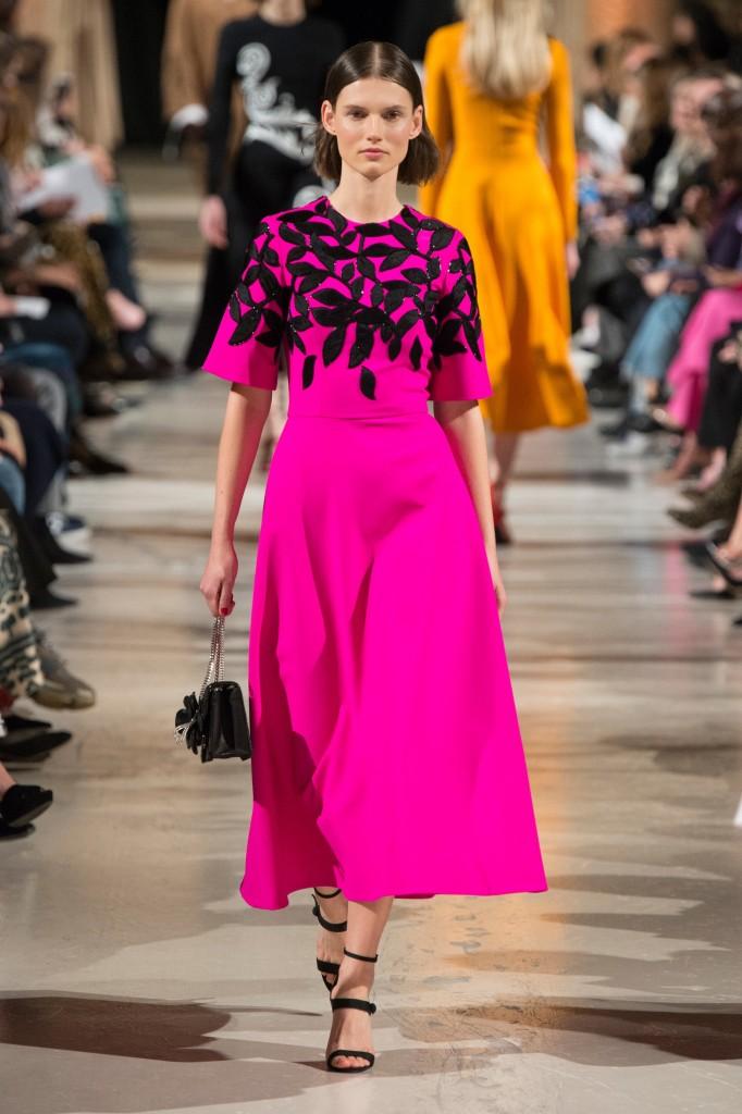 Oscar de la Renta's fall 2018 Collection (Photo courtesy of Vogue.com)