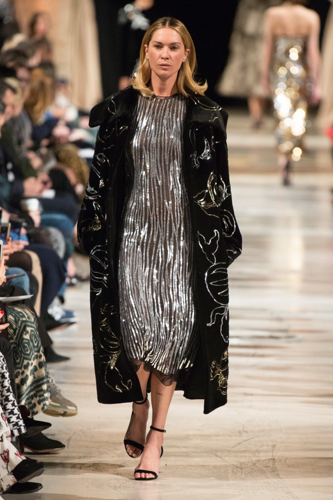 Oscar de la Renta's fall 2018 Collection (Photo courtesy of Vogue.com)
