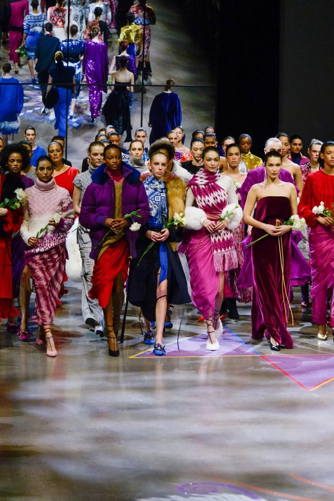 Prabal Gurung's fall 2018 Collection (Photo courtesy of Vogue.com)