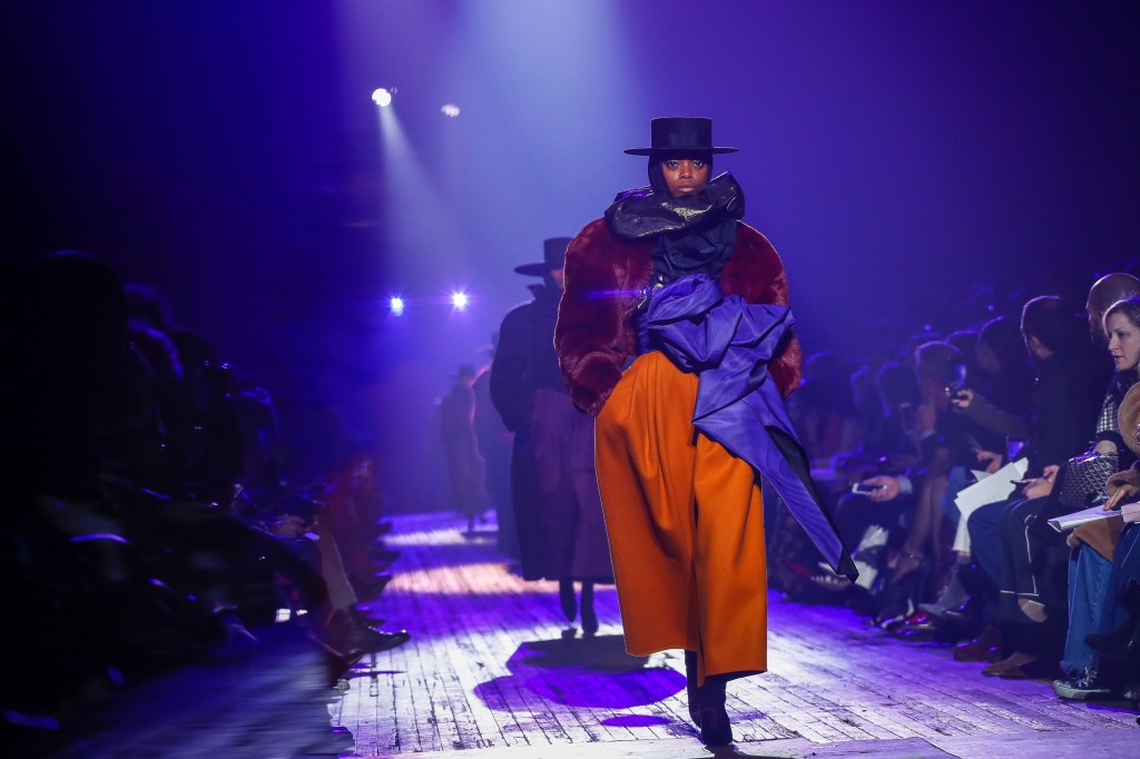 Marc Jacobs' fall 2018 Collection (Photo courtesy of Vogue.com)