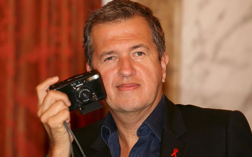 Mario Testino (Photo courtesy of the Telegraph)