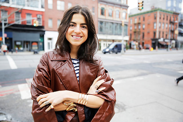A powerful influencer is Man Repeller's Leandra Medine (photo courtesy of Buro 24/7)