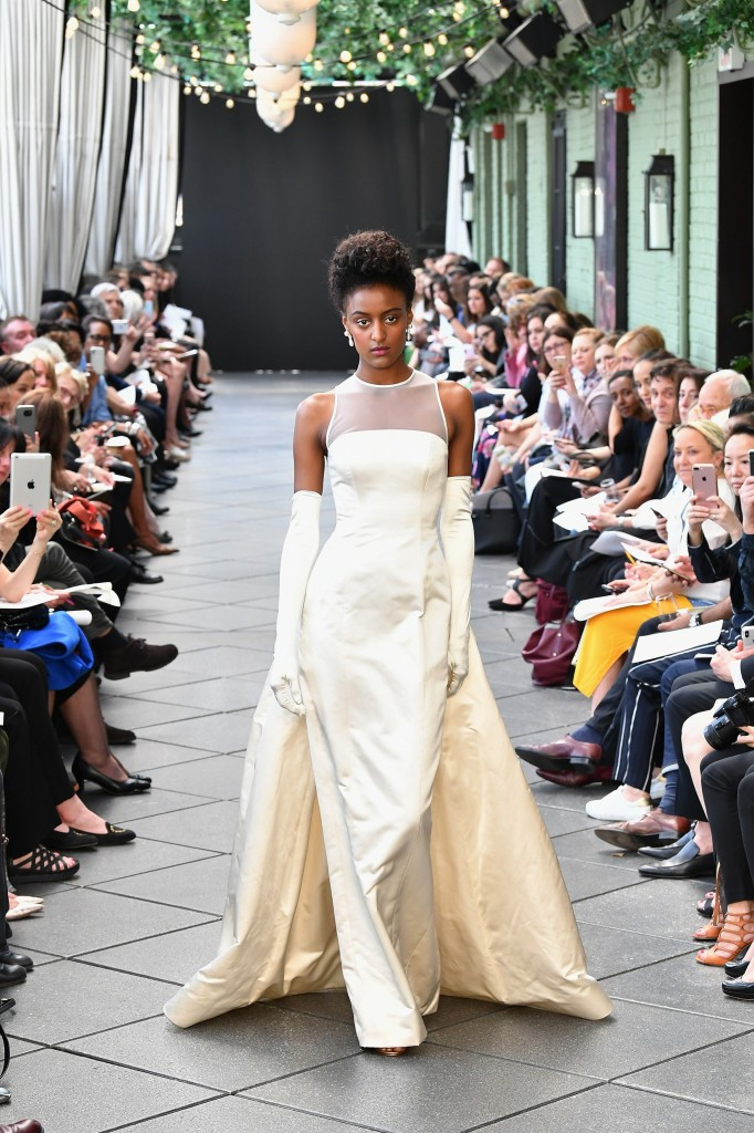 The first bridal dress Amsale created (Photo courtesy of the designer)