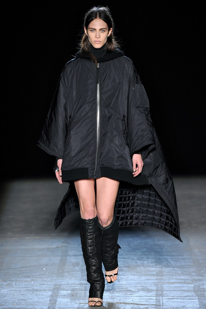 Alexander Wang Fall 2011 Collection (Photo courtesy of Vogue.com)