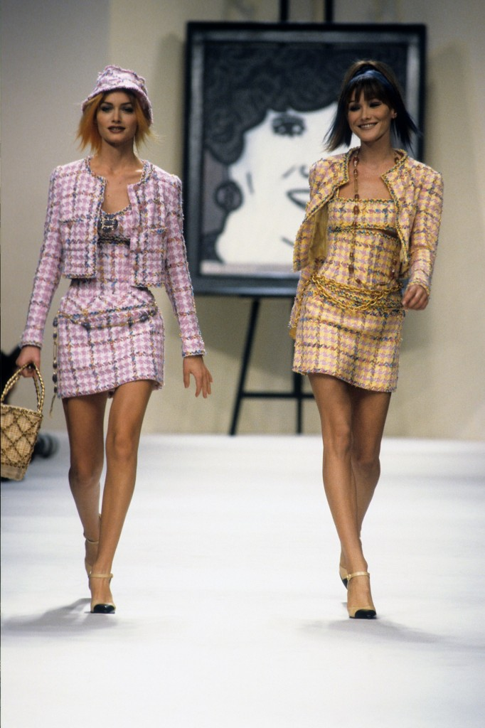 Chanel Spring 1994Collection (Photo courtesy of Vogue.com)