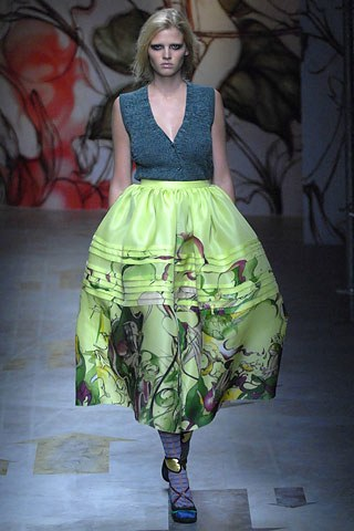 Prada Spring 2008 Collection (Photo courtesy of Vogue.com)