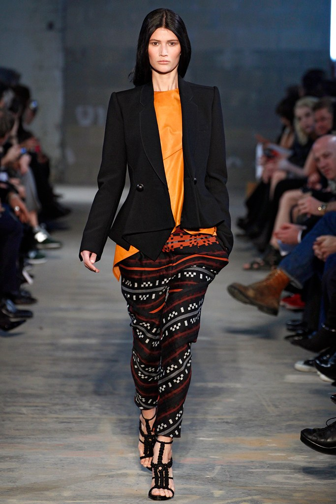 Proenza Schoular Fall 2011 Collection (Photo courtesy of Vogue.com)