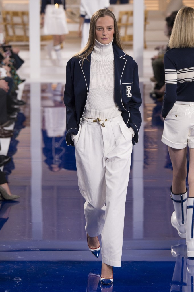 Ralph Lauren Spring 2018 Collection (Photo courtesy of Vogue.com)