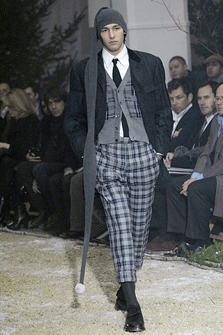 Thom Brown Fall 2007 Collection (Photo courtesy of Vogue.com)