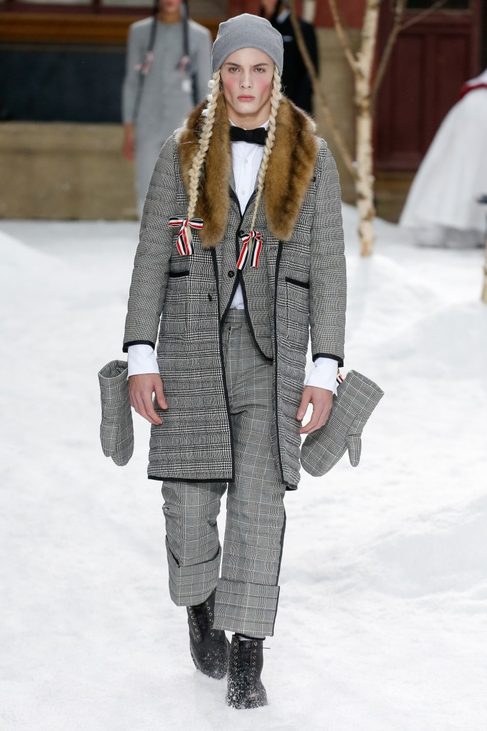 Thom Brown Fall 2018 Collection (Photo courtesy of Vogue.com)