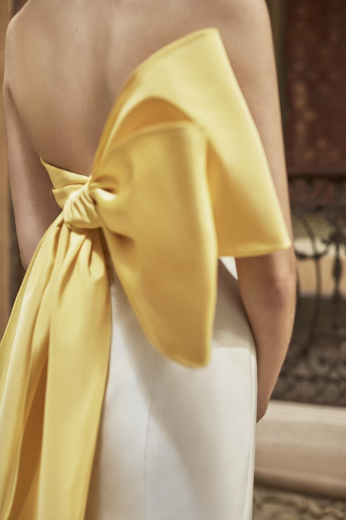 Carolina Herrera's spring collection (Photo courtesy of the designer)