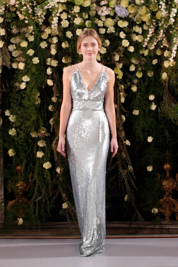 Jenny Packham's spring collection (Photo courtesy of the designer)