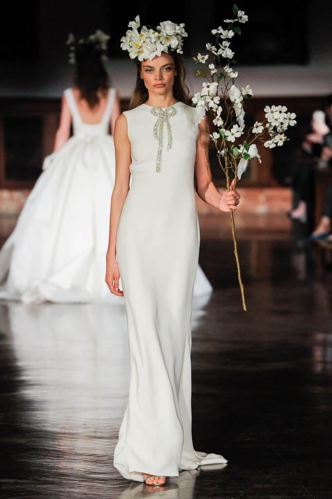 Reem Acra's spring collection (Photo courtesy of the designer)