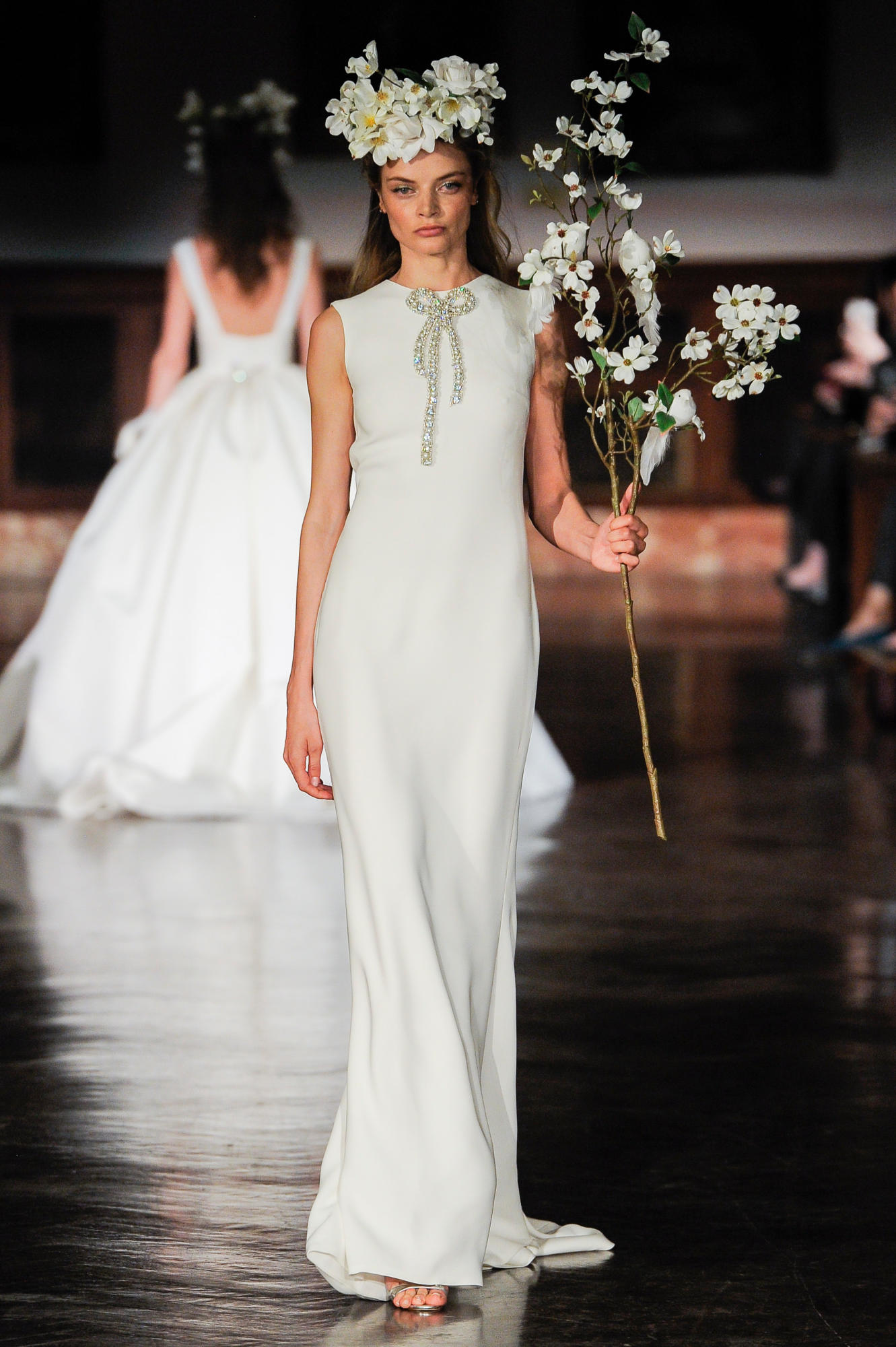 09319d26f94 Reem Acra s spring collection (Photo courtesy of the designer)