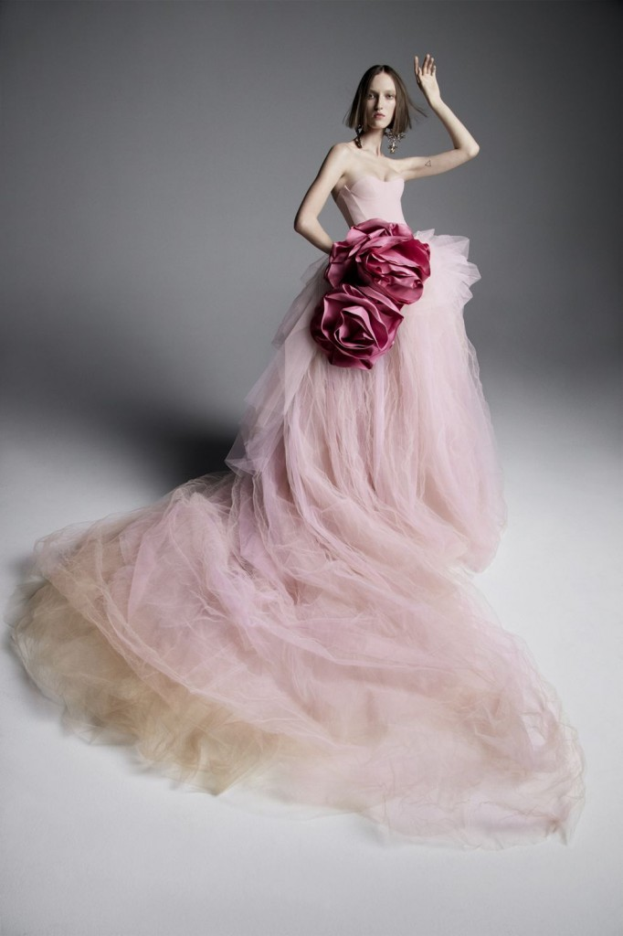 Vera Wang's spring collection (Photo courtesy of the designer)
