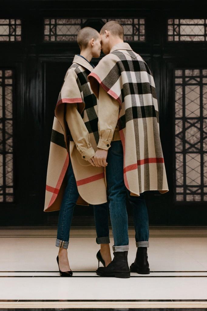 Burberry (Photo courtesy of Vogue.com)