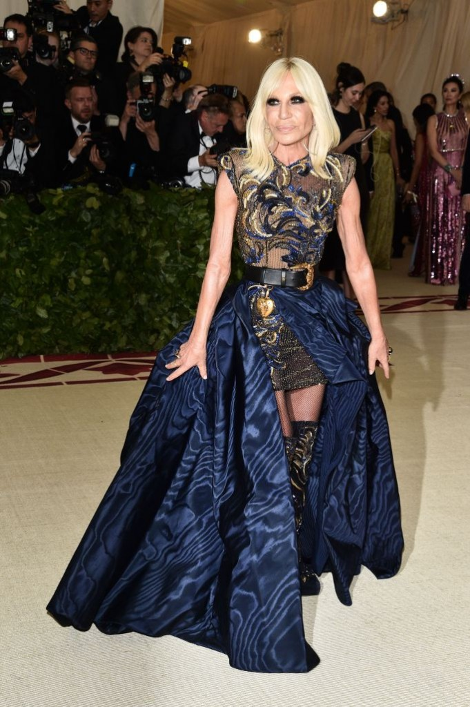 Donatella (Photo Courtesy of Shutterstock Images) Versace