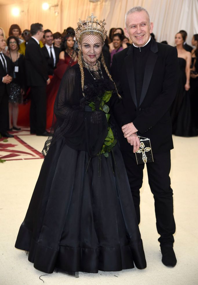 Madonna and Jean Paul Gaultier (Photo Courtesy of Shutterstock Images)