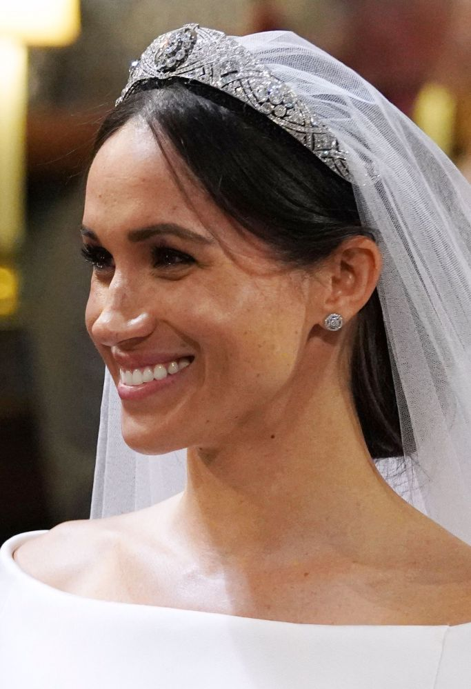Meghan Markle's crown (photo courtesy of Shutterstock)