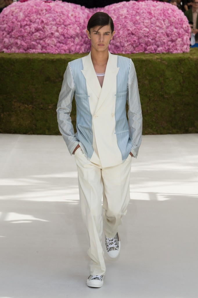 Dior Homme Men's Spring 2019 Show (Photo Courtesy of Vogue.Com)