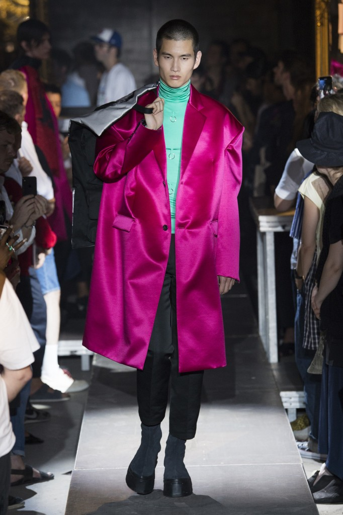 Raf Simons Men's Spring 2019 Show (Photo Courtesy of Vogue.Com)