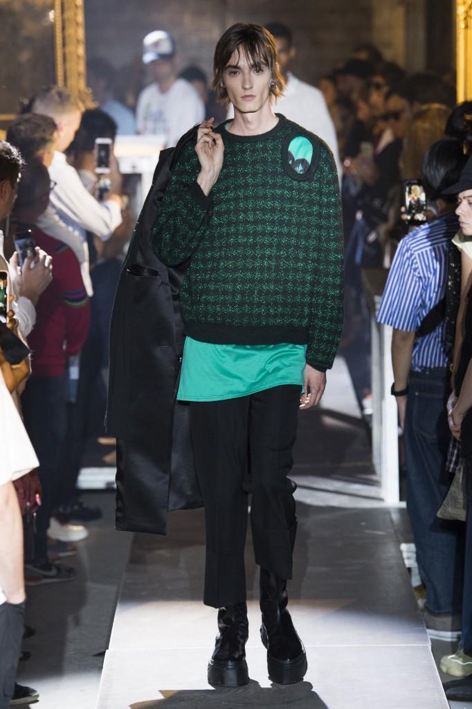 Raf Simons Men's Spring 2019 Show (Photo Courtesy of Vogue.Com)