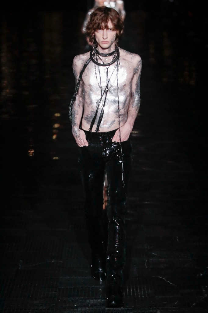 Saint Laurent Men's Spring 2019 Show (Photo Courtesy of Vogue.Com)