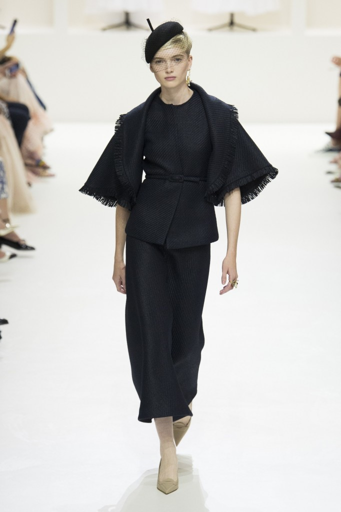 Christian Dior Haute Couture Runway Look (photo courtesy of Vogue.com)