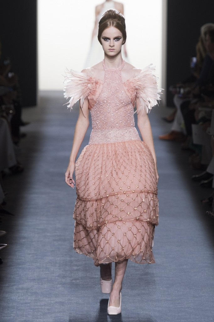 Fendi Haute Couture Runway Look (photo courtesy of Vogue.com)