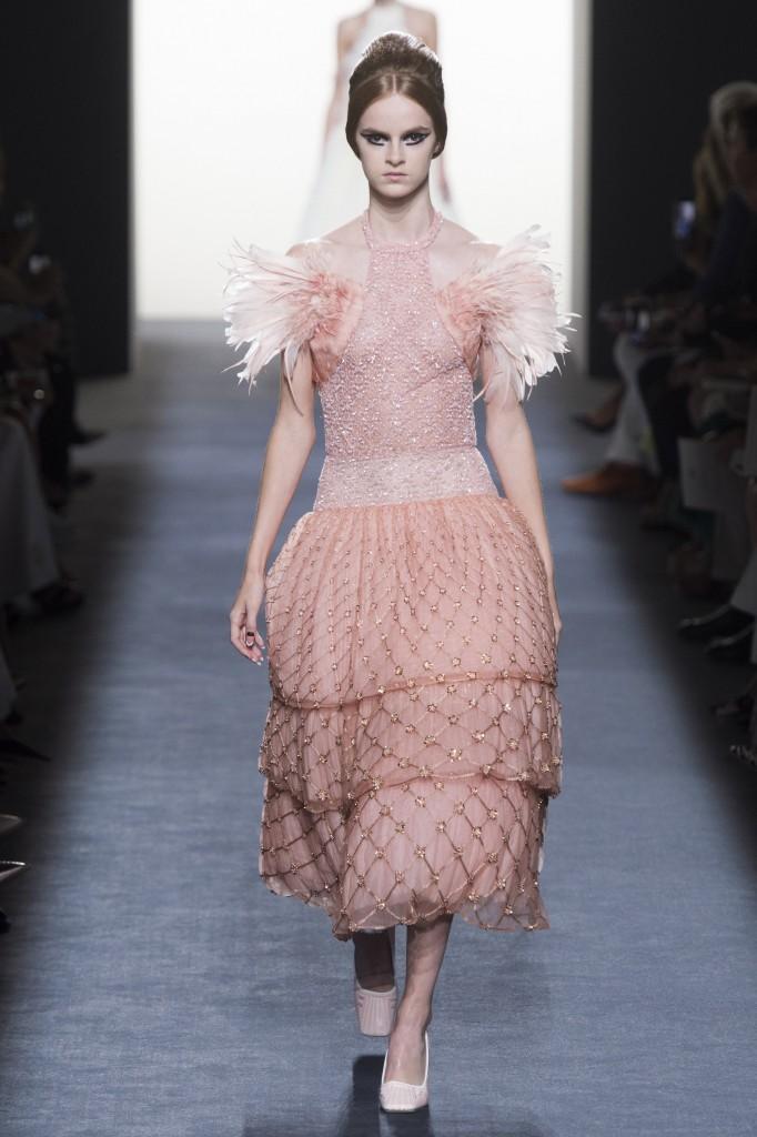 Fendi Haute Couture Runway Look (photo courtesy of Vogue.com)