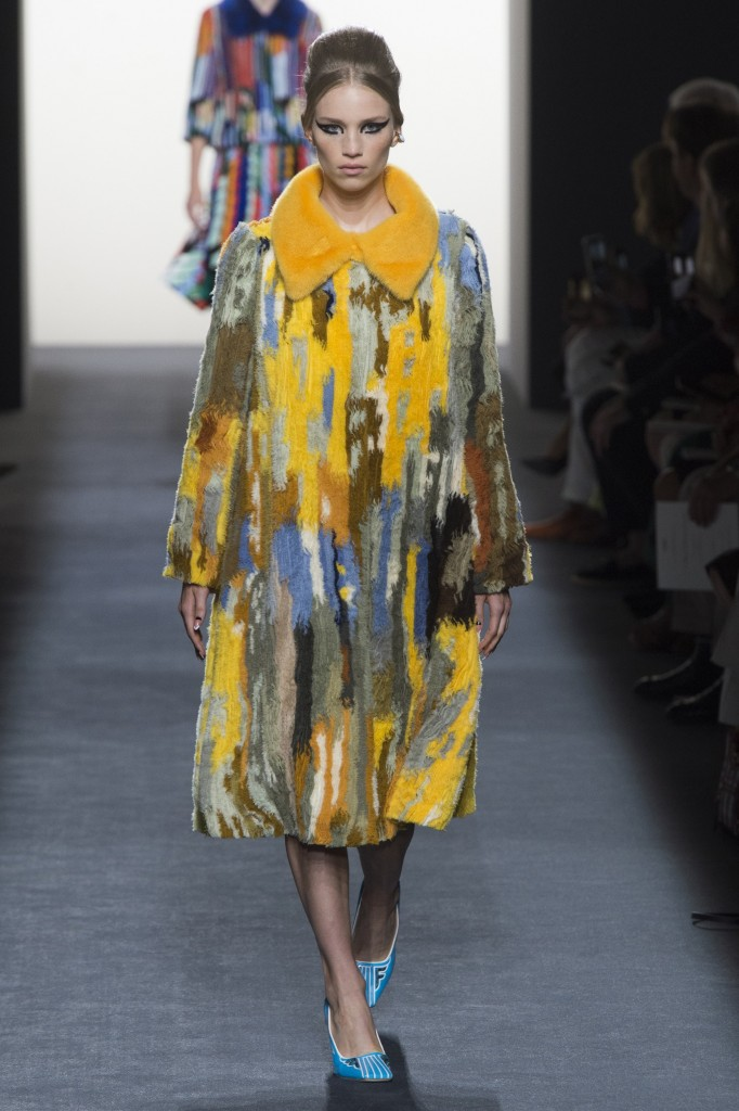 Fendi Haute Couture faux fur Runway Look (photo courtesy of Vogue.com)