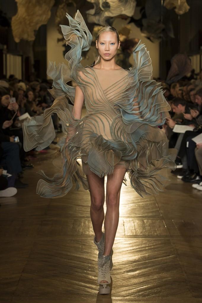 Iris van Herpen's Fall 2018 Couture Show (photo courtesy of Vogue.com)