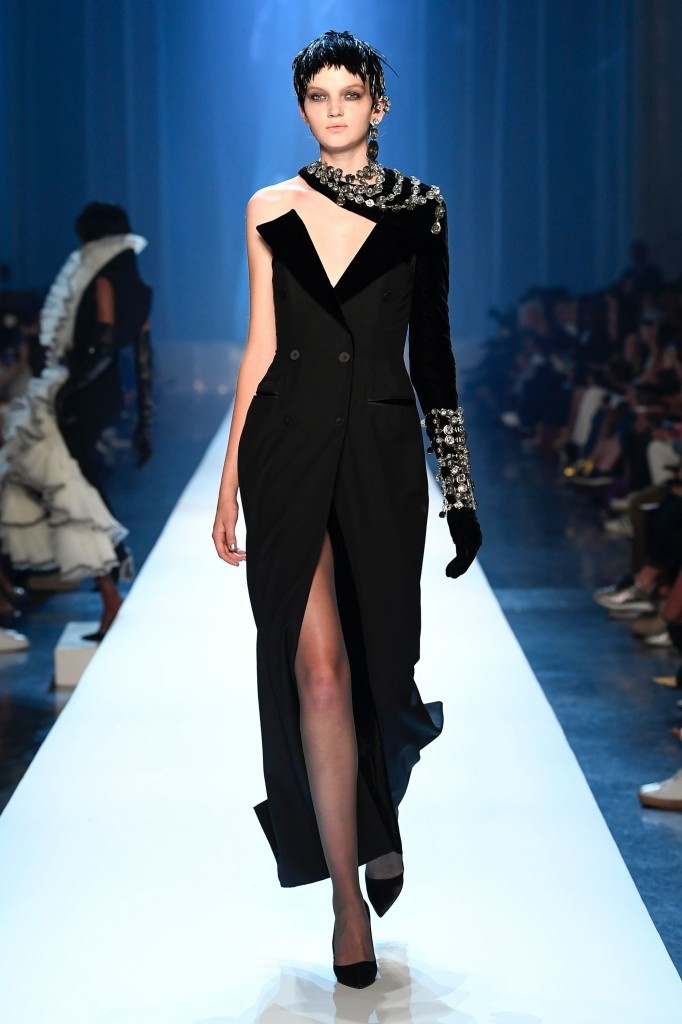 Jean Paul Gaultier Haute Couture Runway Look (photo courtesy of Vogue.com)