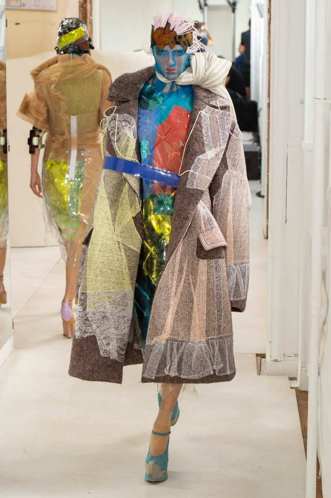 Maison Margiela Haute Couture Runway Look (photo courtesy of Vogue.com)