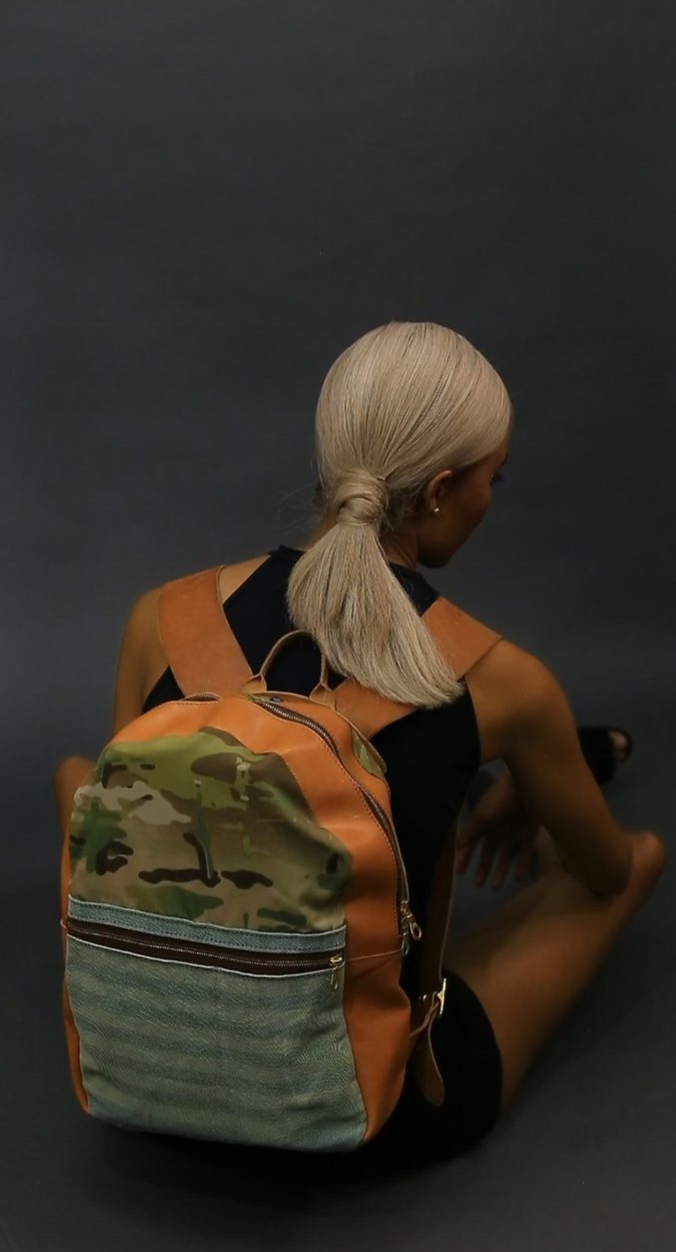 ca5b74640242 This backpack can change its color on demand to match your mood. (Image  Courtesy