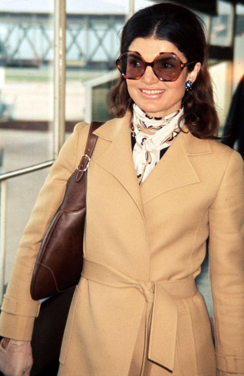 Jackie O signature look (Photo Courtesy of Town & Country)