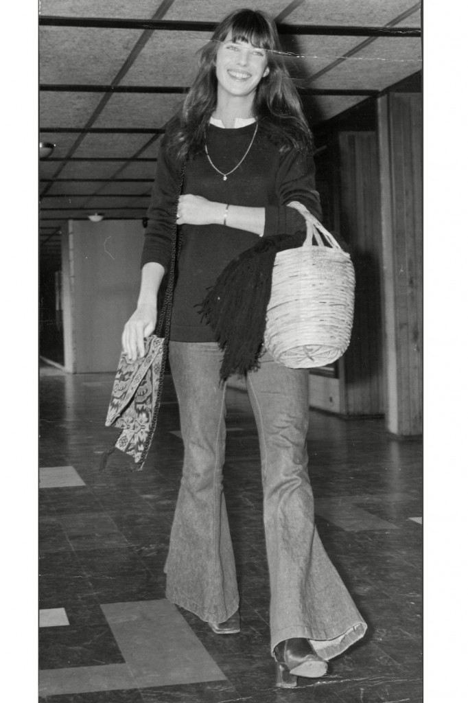 Jane Birkin in her signature denim style (Photo Courtesy of Marie Claire)