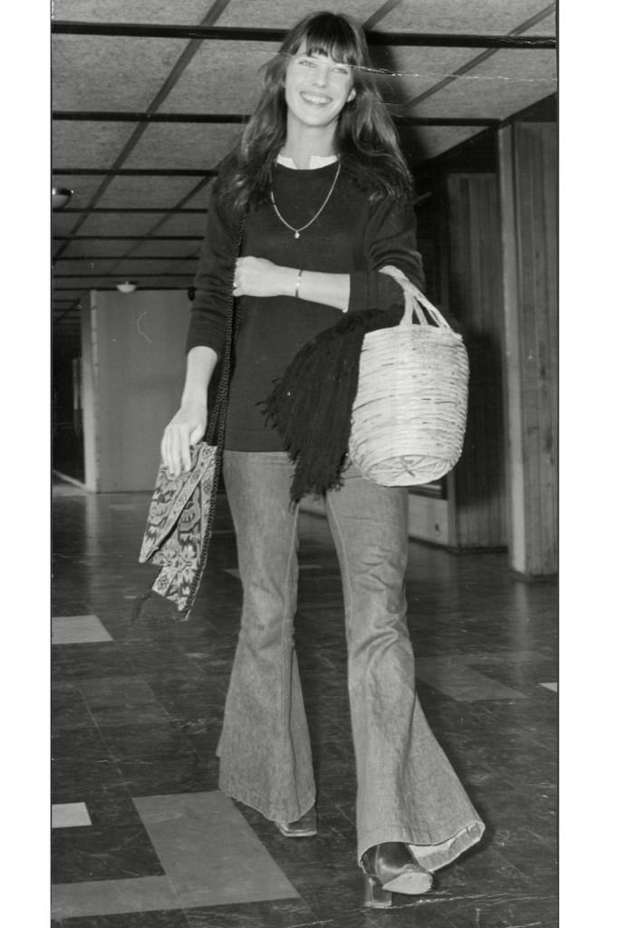Jane Birkin in her signature denim style (Photo Courtesy of Marie Claire)