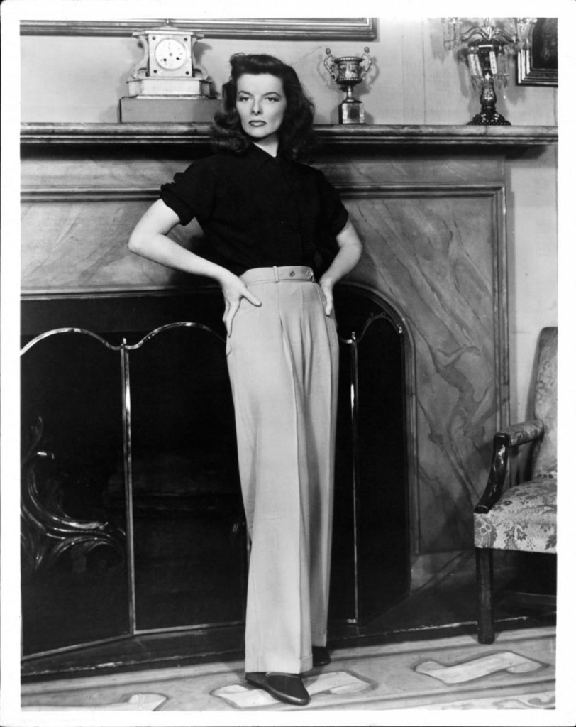 Katharine Hepburn in a scene from the film 'The Philadelphia Story', 1940 (Photo Courtesy of Getty Images)